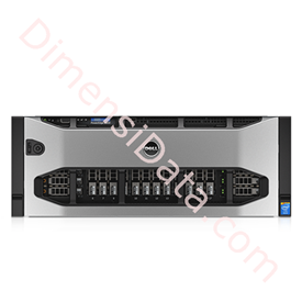 Jual Rack Server DELL PowerEdge R920 [Xeon E7-4830v2, 64GB, 1TB, WinServer 2012R2]